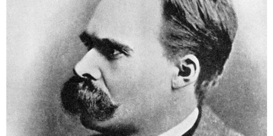 'Superman': Friedrich Nietzsche, German philosopher, 19th century (1956).