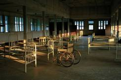 Hospital, hoje abandonado