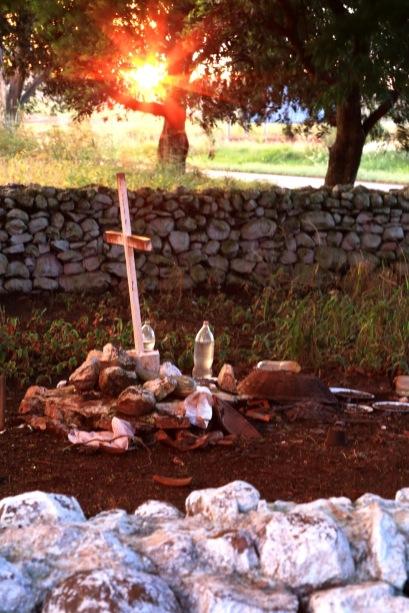Por do sol no Cemitério dos Caboclos