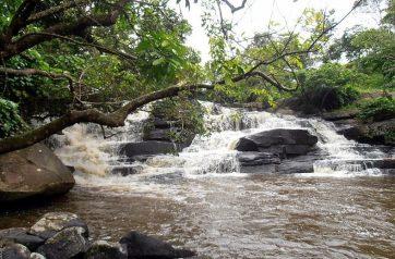 Cachoeira na Serra dos Dois Irmãos (AL)