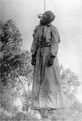 Americana Mary Turner sofreu as mesmas torturas relatadas no podcast, mas em 1918.