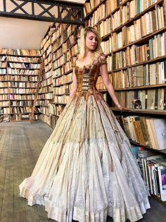 O vestido e sua inspiração